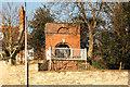 SK9871 : Pottergate gazebo by Richard Croft