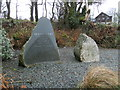 """SN1730 : Monument to """"Siams Dafi"""" 1758-1844 by chris whitehouse"""