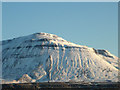 SD7374 : The Black Shiver face of Ingleborough by Karl and Ali