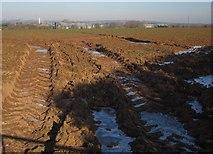 ST0307 : Rutted field entrance, Stoneyford by Derek Harper