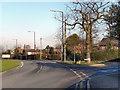 SJ7089 : Warburton Lane - Dunham Road Junction by David Dixon