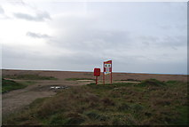 SY5088 : Safety information and equipment, Cogden Beach by N Chadwick