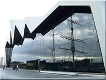 NS5565 : The Riverside Museum, reflecting the Glenlee by Elliott Simpson