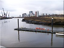 NS5565 : The River Clyde, looking downstream from the Riverside Museum by Elliott Simpson