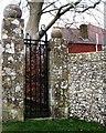 TQ5801 : Iron gate, Ratton Drive, Willingdon by nick macneill