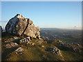 SD4972 : Limestone boulders, Warton Crag by Karl and Ali