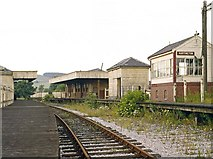 SK1461 : Hartington Station looking north 1967 by Richard Bird