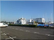 SZ3394 : Lymington Town Sailing Club by Mike Faherty