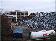 SU1686 : EMR scrap metal yard, Gipsy Lane by Vieve Forward