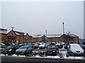 ST6777 : Shopping Centre at Emerson's Green by John Allan