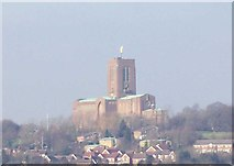 SU9850 : Guildford Cathedral by Len Williams