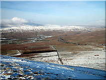 SD7579 : Whernside and Ribblehead Viaduct by John Lucas