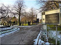 SD6602 : Atherton Cemetery by David Dixon