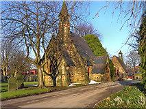 SD6602 : Atherton Cemetery Chapels by David Dixon