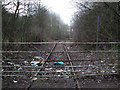 SU1686 : Gate blocking disused GWR Highworth branch line by Vieve Forward