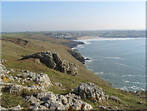 SW9280 : Pentire Point on the North Cornish Coast by Keith Kingdom