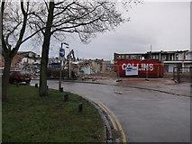 TL4658 : Demolition in progress by Hugh Venables