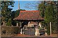 TQ2742 : Lychgate, St Bartholomew's Church, Horley by Ian Capper