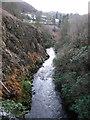SN7372 : Ystwyth gorge by Rudi Winter