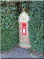 ST6514 : North Wootton: postbox № DT9 30 by Chris Downer