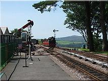 SS6846 : Axe on the Lynton & Barnstaple Railway by Barrie Cann