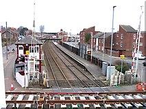 SK8508 : Rail Action at Oakham 06:Oakham Station by Andrew Tatlow