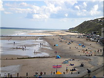 TG2142 : Cromer Beach by Lewis Potter