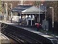 TQ1255 : Platform 2, Bookham by Colin Smith