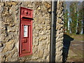 ST6319 : Sherborne: postbox № DT9 57, Clatcombe Lane by Chris Downer
