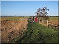 TG3604 : Bridge over Fleet Dyke by Hugh Venables