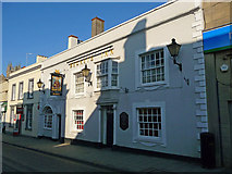 ST5038 : Glastonbury - Beckets Inn by Chris Talbot
