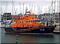 J5082 : Relief Lifeboat at Bangor Marina by Rossographer