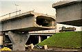 J3475 : Weir and cross-harbour bridges, Belfast (66) by Albert Bridge