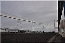 ST5590 : Severn Bridge : The M48 Motorway by Lewis Clarke