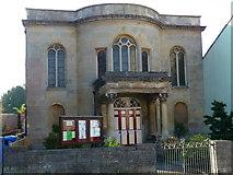 ST5038 : Glastonbury - United Reformed Church by Chris Talbot