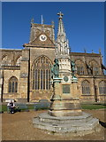 ST6316 : Sherborne: Wingfield Digby memorial by Chris Downer