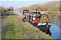 SO7406 : Narrowboat on the Gloucester and Sharpness Canal by Philip Halling