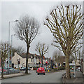SO9496 : Wellington Road leaving Bilston, Wolverhampton by Roger  Kidd