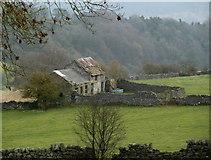 SK2276 : Farm ruins near Eyam by Andrew Hill