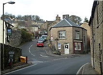 SK2375 : Village scene, Stoney Middleton by Andrew Hill