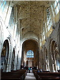 ST6316 : Sherborne: inside the abbey by Chris Downer