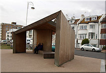 TQ7306 : Shelter, Bexhill-on-Sea by Julian Osley