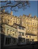 ST7565 : Houses above Walcot Street, Bath by Derek Harper