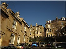 ST7566 : Top of Brunswick Street, Bath by Derek Harper