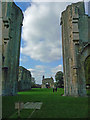 ST5038 : Glastonbury - Glastonbury Abbey by Chris Talbot