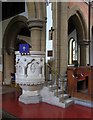 TQ3297 : St Michael & All Angels, Gordon Hill, Enfield - Pulpit by John Salmon