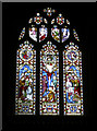 ST5763 : St Andrew's window by Neil Owen