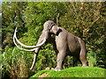 ST5347 : Wookey Hole - Mammoth by Chris Talbot