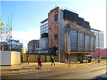 NZ2564 : Demolition of the former Bank of England, Pilgrim Street by Andrew Curtis