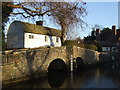 TQ5365 : Bridge over the Darent at Eynsford by Malc McDonald